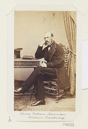 Wilhelm, Prince of Löwenstein-Wertheim-Freudenberg