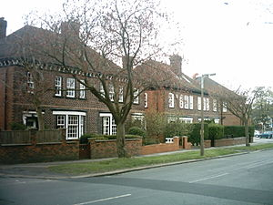 West Park, Leeds - Houses on Spen Road