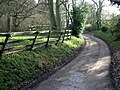 Private road to Knowlton Court - geograph.org.uk - 674932.jpg