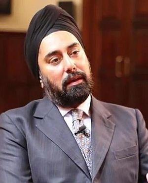Jagjit Chadha - Jagjit Chadha at Gresham College, 2014