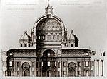 Secciòn Basílica de San Pedro Vaticano