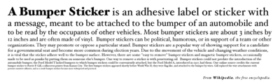 Proposed eponymous bumper sticker for Wikipedia - white background.png