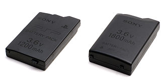 PlayStation Portable - Two different battery size standards