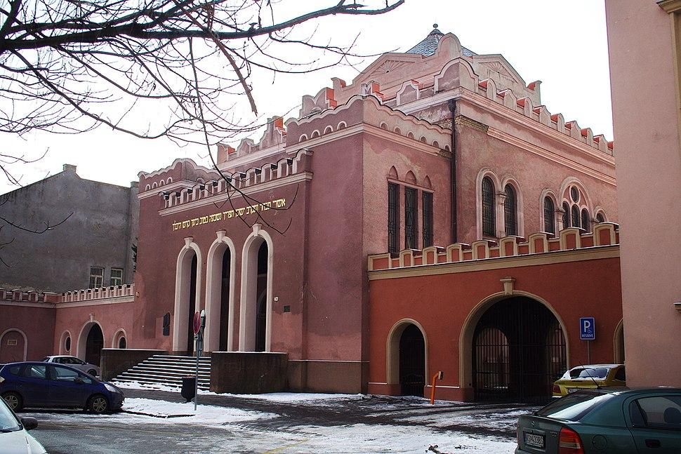 Puškinova - Synagóga