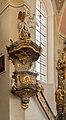 Pulpit, Saint Peter and Paul church, Oberammergau, Bavaria, Germany.jpg