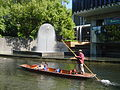 Punting on the River Avon, Christchurch, NZ.jpg