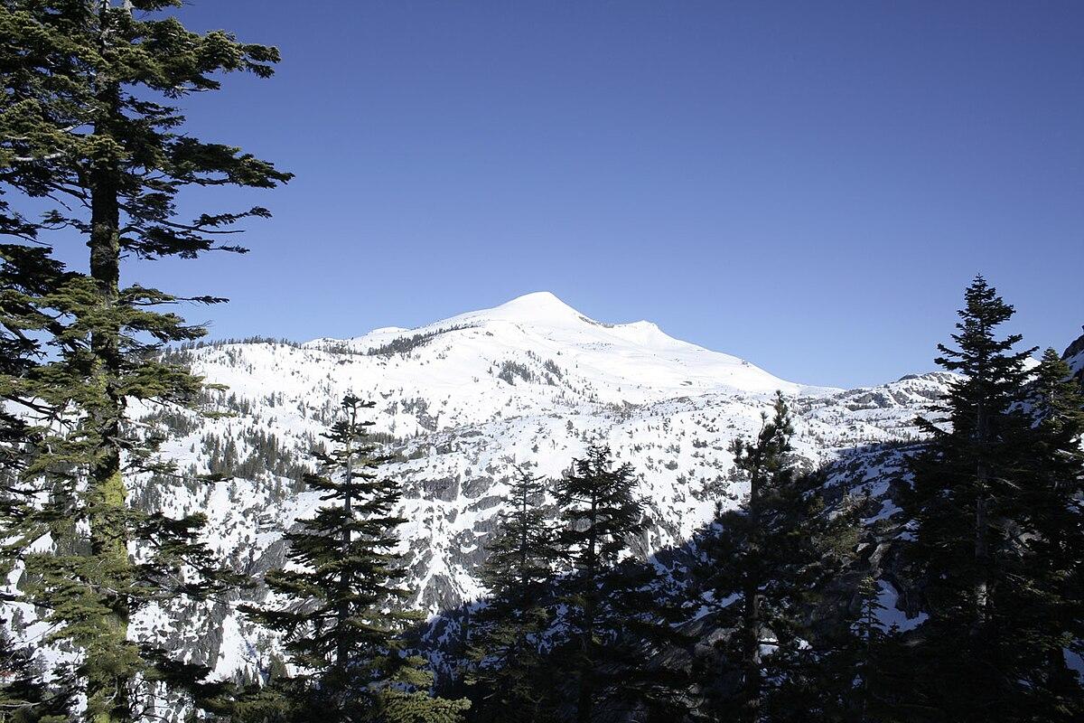 Sierra At Tahoe >> Pyramid Peak (California) - Wikipedia