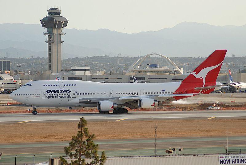 File:Qantas Boeing 747-400ER; VH-OEE@LAX;18.04.2007 463an (4270027009).jpg
