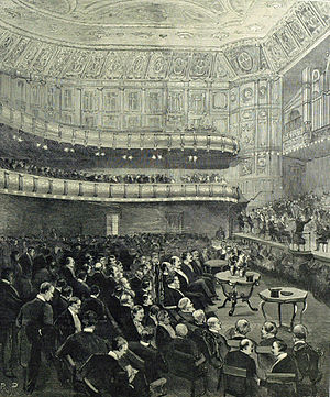 Queen's Hall - Royal concert in 1893