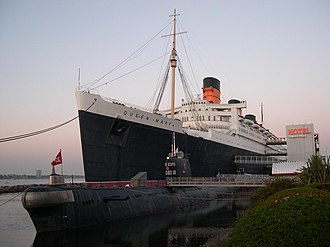Titanic II (film) - The RMS Queen Mary, which in the movie was used as the SS Titanic II