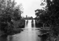 Queensland State Archives 1335 Mena Creek Falls Paronella Park Innisfail c 1935.png