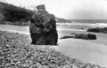 Queensland State Archives 248 Cooks Monument Monumental Cove Noosa National Park c 1931.png