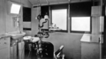 Queensland State Archives 2553 View of surgery inside Department of Public Instruction Rail Dental Clinic Car Roma Street Brisbane 1929.png