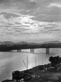 Queensland State Archives 494 Victoria Bridge and the Brisbane River 7 May 1940.png