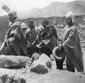 Quichua-indianer på kyrkogården i S-ta Rosa - SMVK - 002923.tif