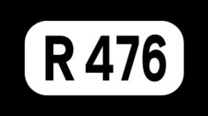 R460 road (Ireland) - Image: R476 Regional Route Shield Ireland