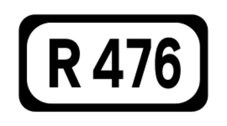 R460 road (Ireland) - Image: R476 Regional Route Shield Ireland