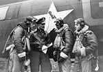RAF Chelveston - 305th Bombardment Group - First raid on Germany.jpg