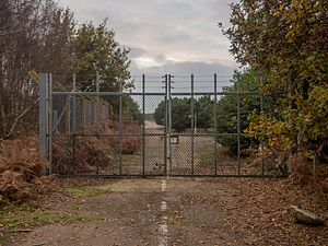 Rendlesham Forest incident - The east gate at RAF Woodbridge, where the incident began in December 1980