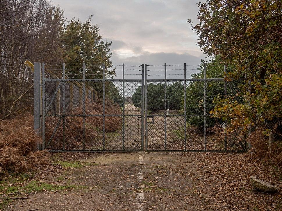 RAF Woodbridge East Gate