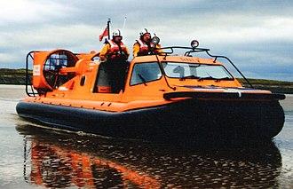 Hunstanton Lifeboat Station - Image: RNLB Hunstanton Flyer (H 003)