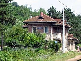 Breaza Town in Prahova, Romania