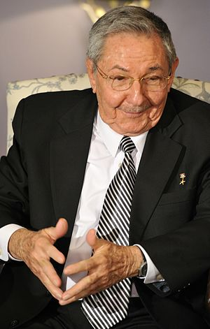 General Secretary of the Communist Party - Image: Raúl Castro, July 2012