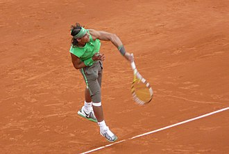 2008 ATP Tour - Rafael Nadal at the 2008 French Open. Nadal won eight titles in 2008 including two Grand Slam tournaments. He finished the year ranked No. 1 and was voted Player of the Year.
