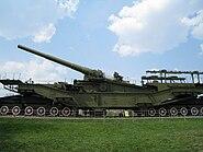 Railway artillery gun TM-3-12