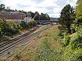 Railway lines approaching Exeter Central - geograph.org.uk - 255162.jpg