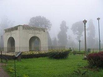Madikeri - Raja's Seat park and viewpoint