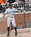 Rajai Davis on June 4, 2011.jpg