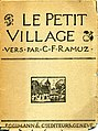 Ramuz 'Le petit village'.jpg