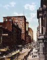 Randolph Street east from Lasalle Street, Chicago, Illinois, 1900.jpg