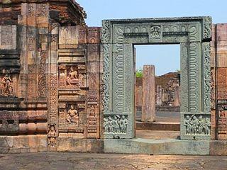 Buddhist monastery in Odisha