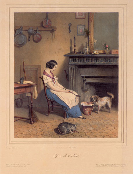 File:Raunheim after Valloud de Villeneuve Sleeping kitchen maid.jpg