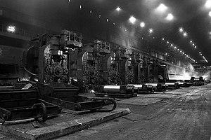 Ravenscraig - Ravenscraig Rolling Mills in 1985