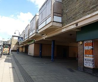 Rawtenstall - The now demolished Valley Centre in Rawtenstall