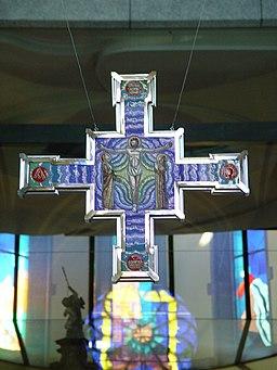 Re Wallfahrtskirche Kreuz Innen