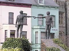 Reaching out, Derry - Londonderry - geograph.org.uk - 142035.jpg