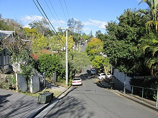 Red Hill, Queensland Suburb of Brisbane, Queensland, Australia