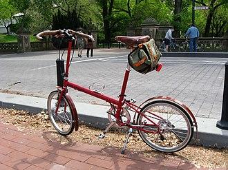 Bike Friday - Customized BF