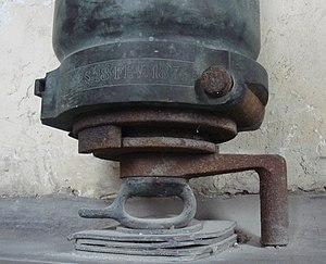 Reffye 75 mm cannon - Screw breech of the Reffye 75mm cannon.