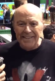 Reggie Bannister giving an interview at Scarefest 2015, Lexington, KY.png