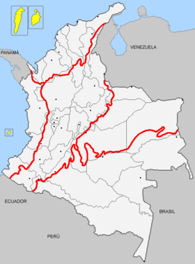Mapa de Región Insular