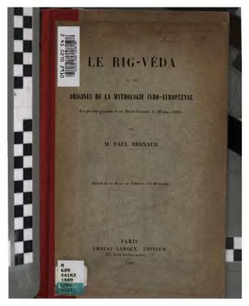 File:Regnaud - Le Rig-Véda et les origines de la mythologie indo-européenne.djvu