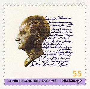 Schneider, Reinhold