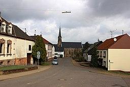Salbacher Straße in Saarwellingen