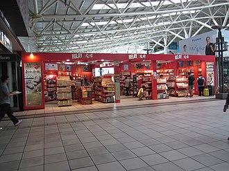 Relay (shop) - Relay Shop in THSR Zuoying Station, Kaohsuing, Taiwan