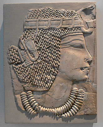 Fillet (clothing) - Image: Relief Amenhotep III